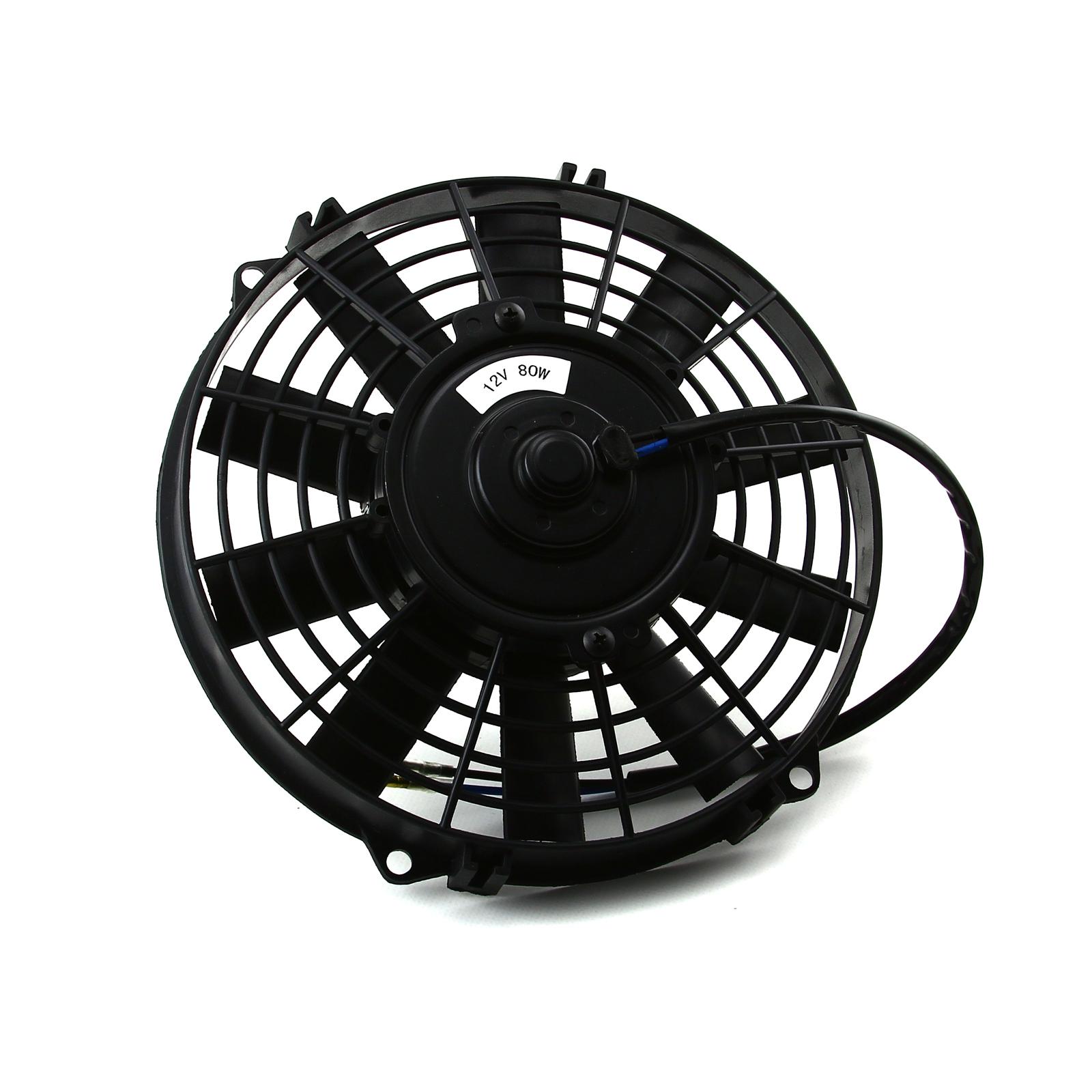 12v Blower Fan 500 Cfm : Quot reversable v radiator electric thermo fan