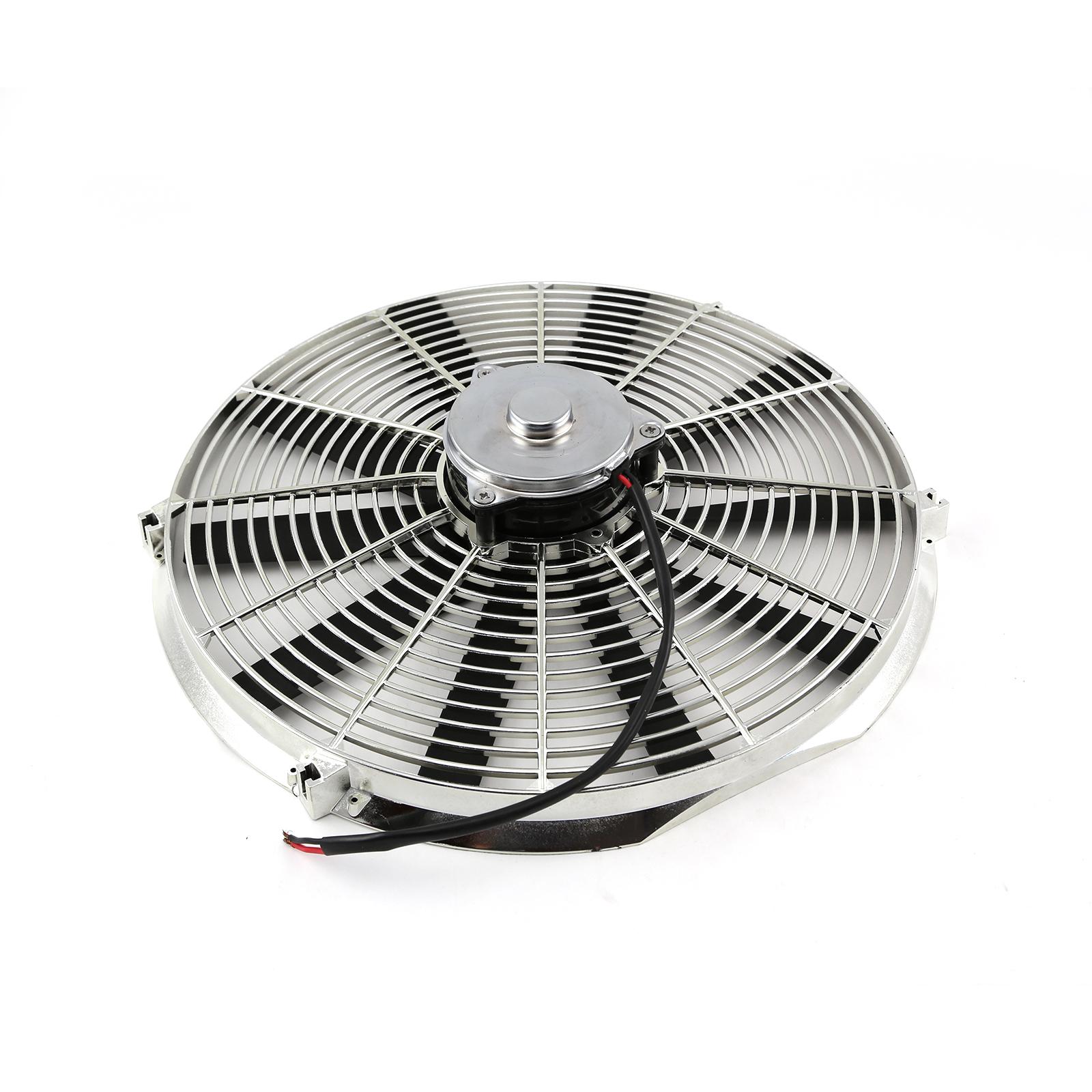 12v Blower Fan 500 Cfm : Quot reversable v radiator electric thermo fan big