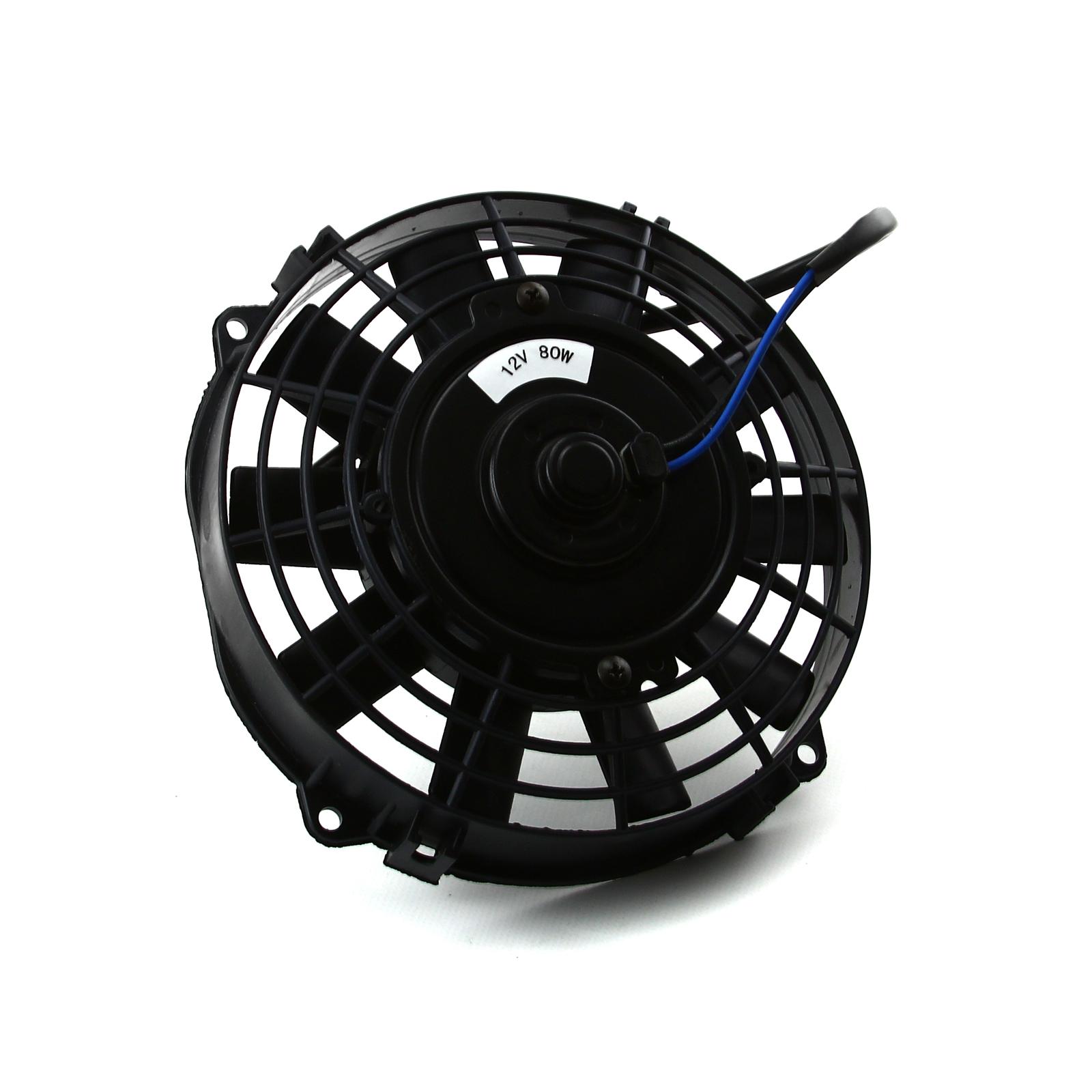 12v Blower Fan 500 Cfm : Quot reversable v radiator electric thermo fan ebay