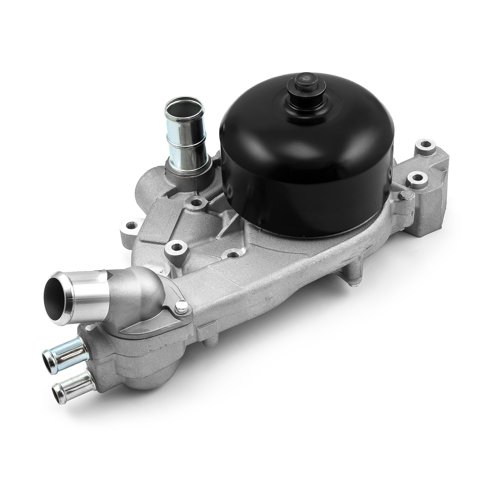 Chevy LS High Volume Aluminum LH Side Water Pump Satin
