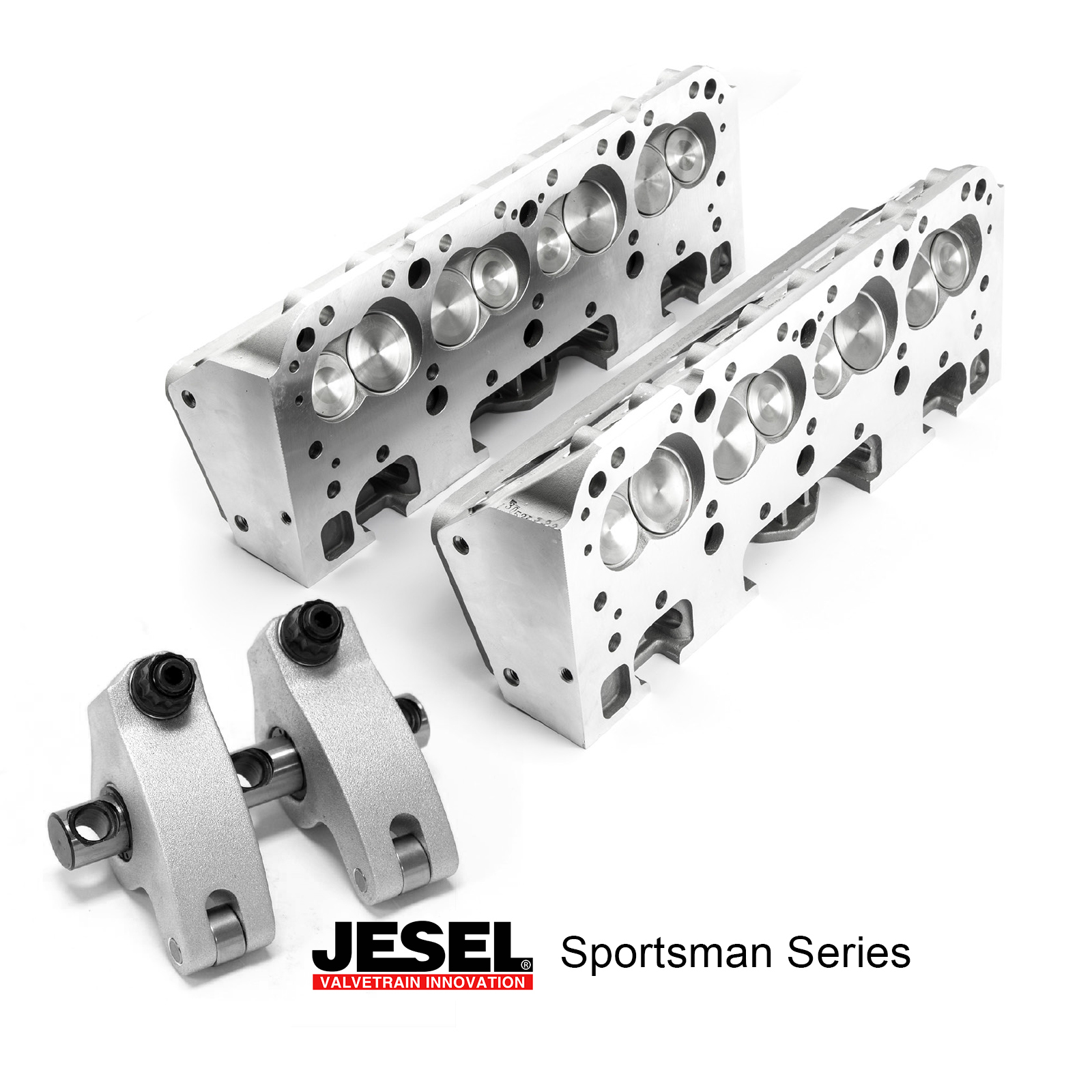 Chevy SBC 350 JESEL Solid Roller Race Package - 190cc Aluminum Cylinder Heads