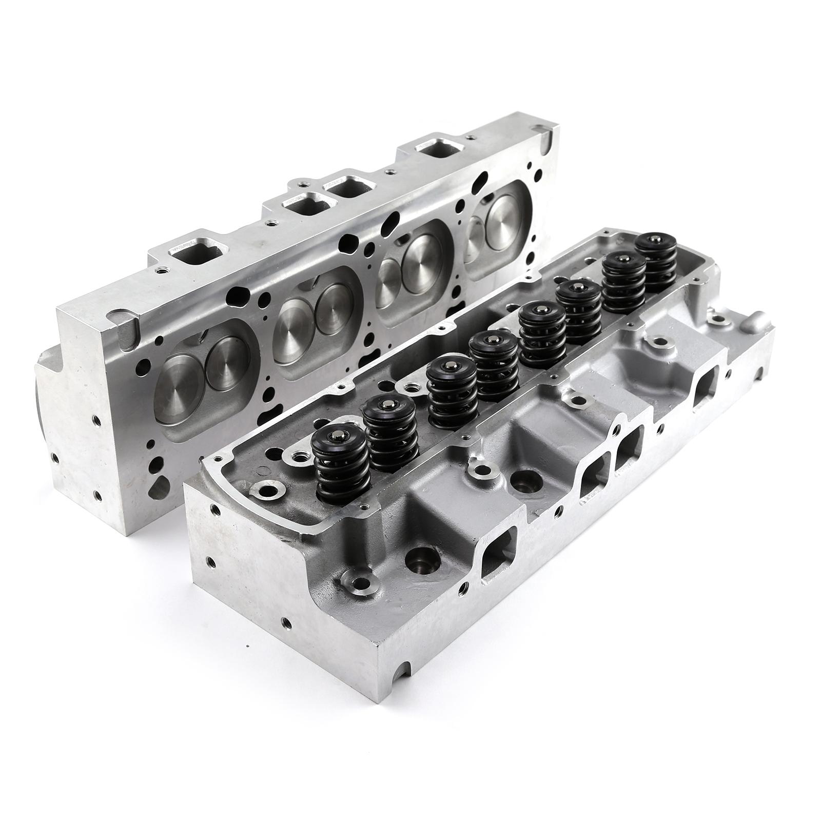 Oldsmobile 400 425 455 188cc 77cc Hydraulic Flat Assembled Cylinder Heads
