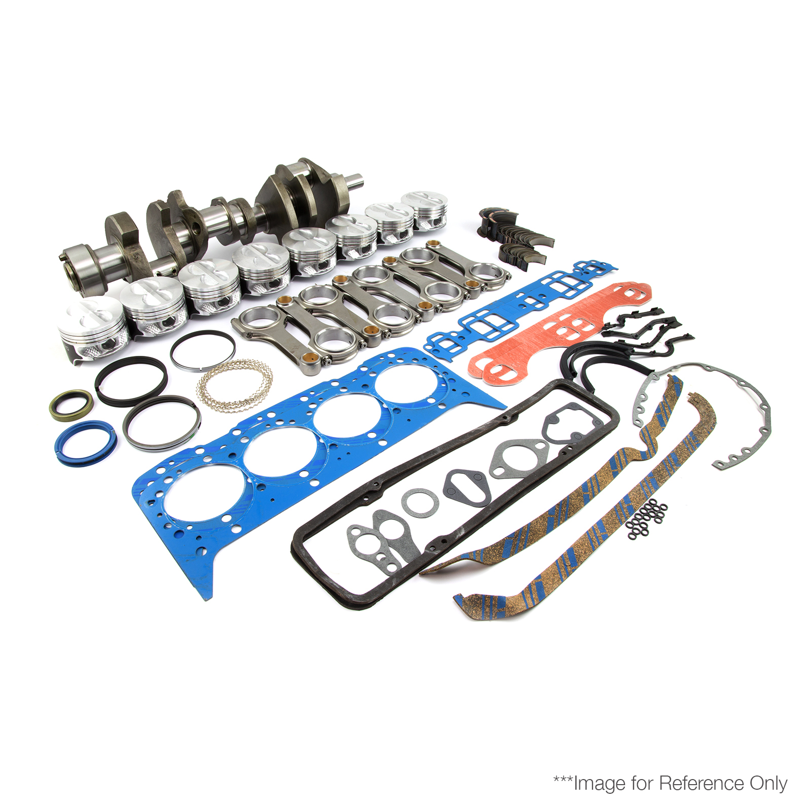 "Chevy BBC 454 4.250"" 496ci 2Pc Rotating Assembly Kit (F,H,F +30)"
