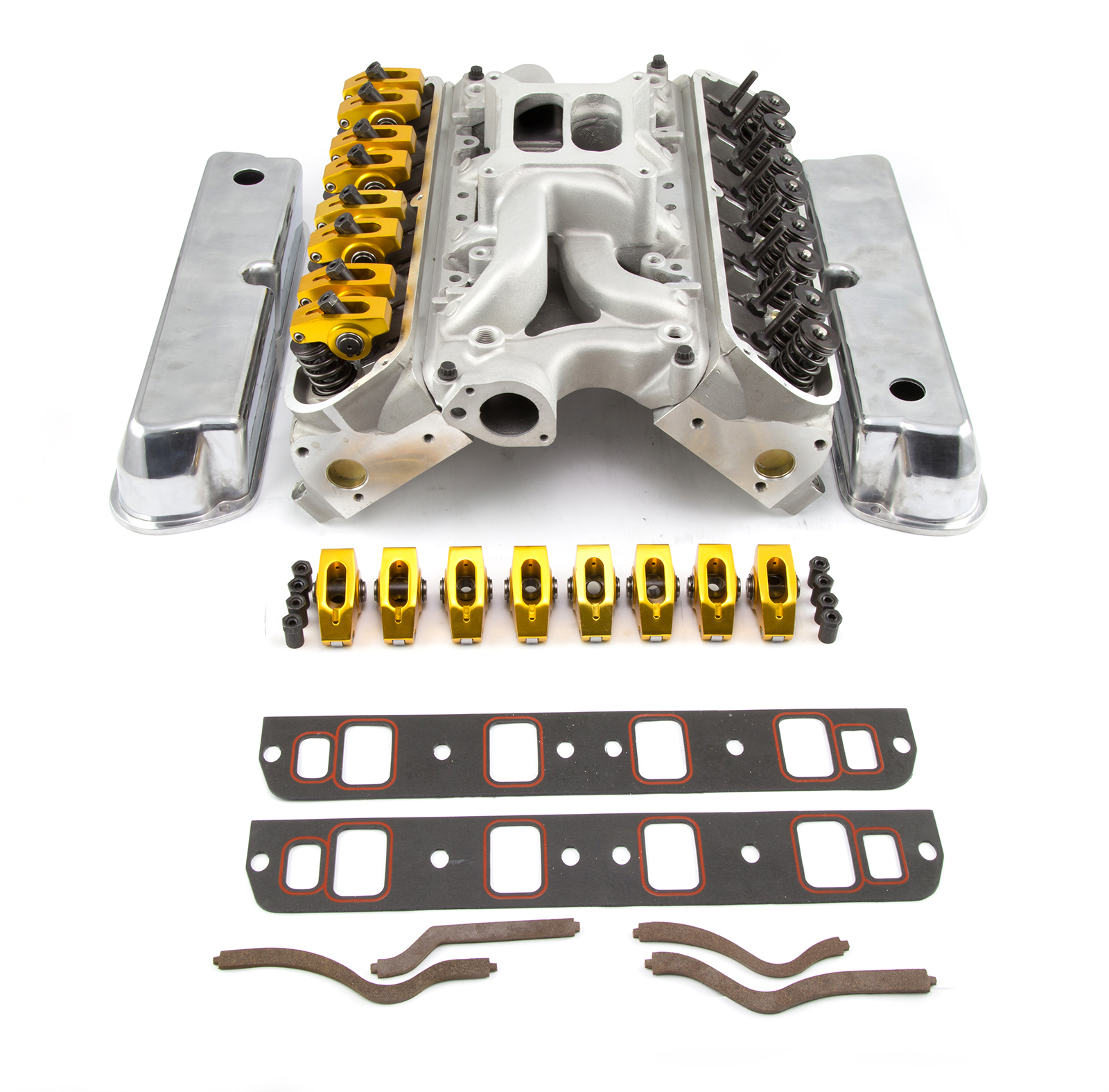 PCE® PCE435.1066 Ford SB 289 302 Hyd FT Cylinder Head Top End Engine Combo Kit
