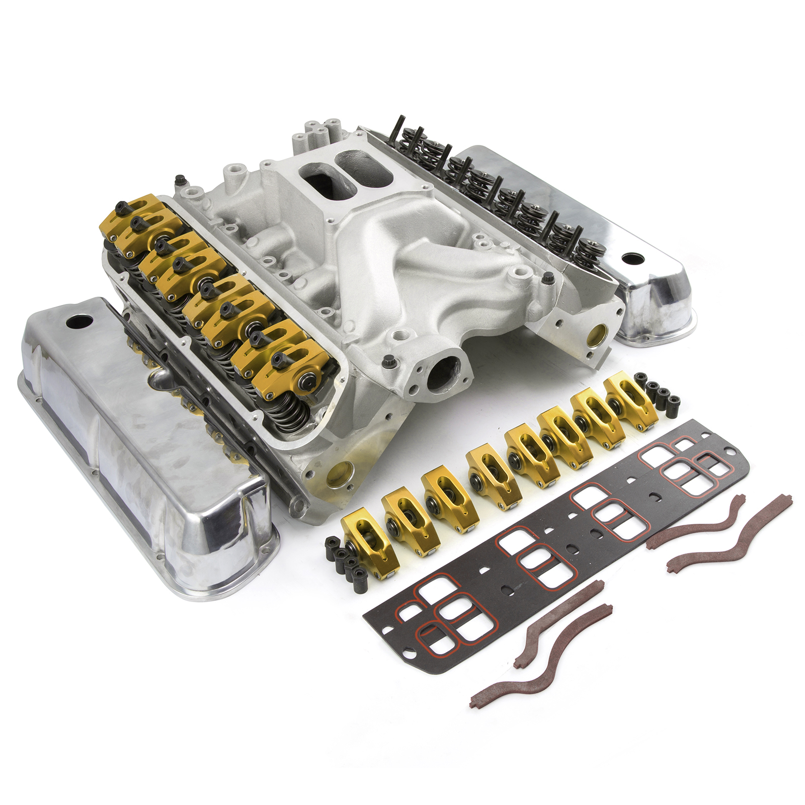 Ford 351W Windsor Hyd FT 175cc Cylinder Head Top End Engine Combo Kit