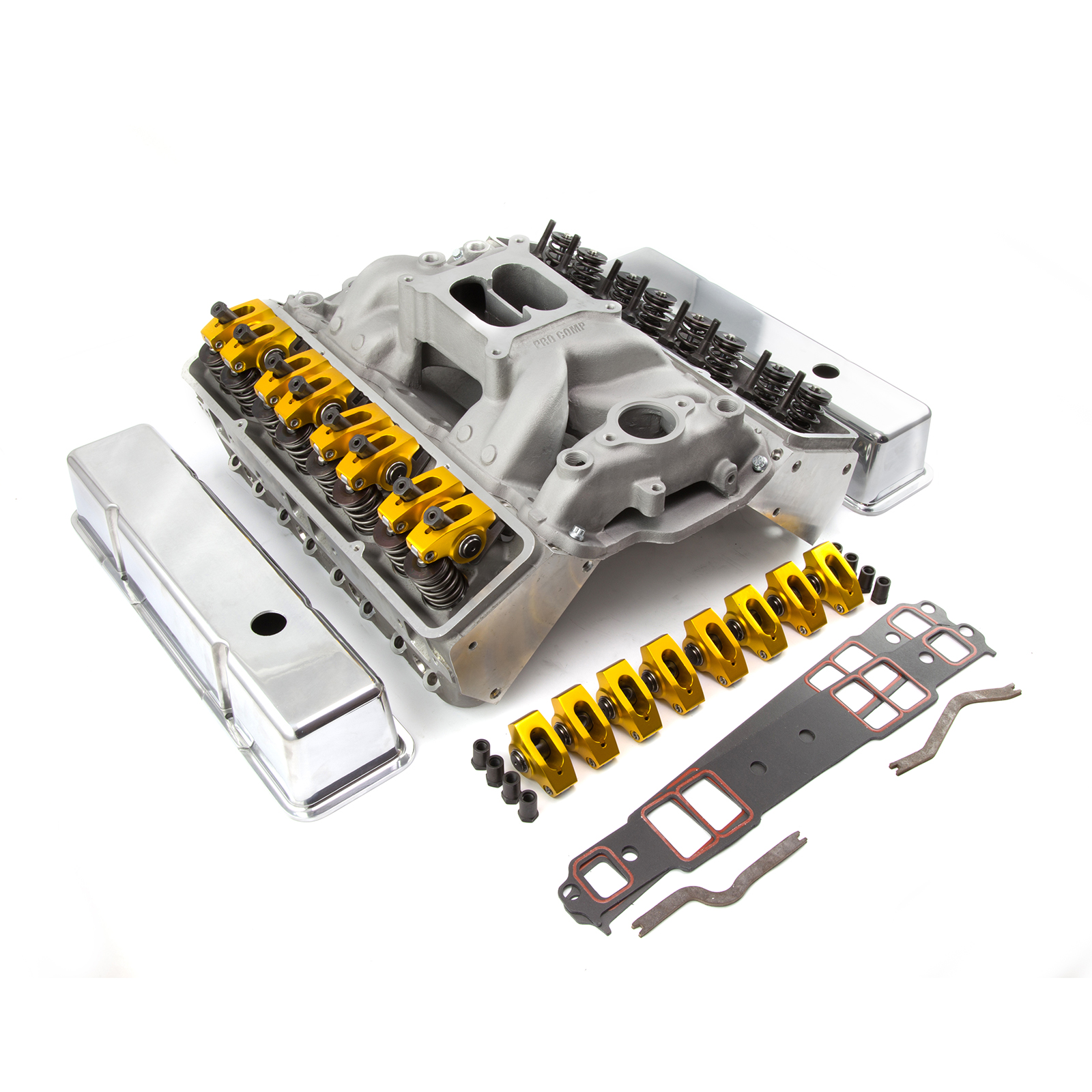 Chevy SBC 350 Angle Plug Hyd Roller Cylinder Head Top End