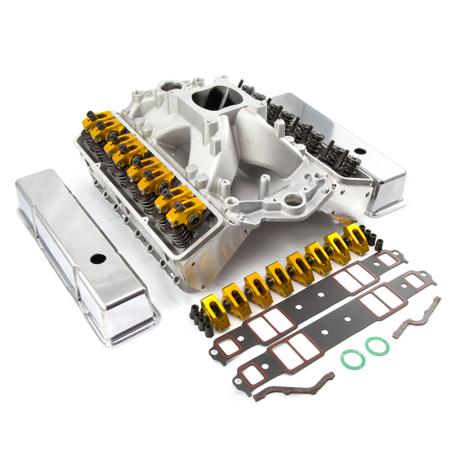 Chevy SBC 350 Straight Plug Solid Roller CNC Cylinder Head