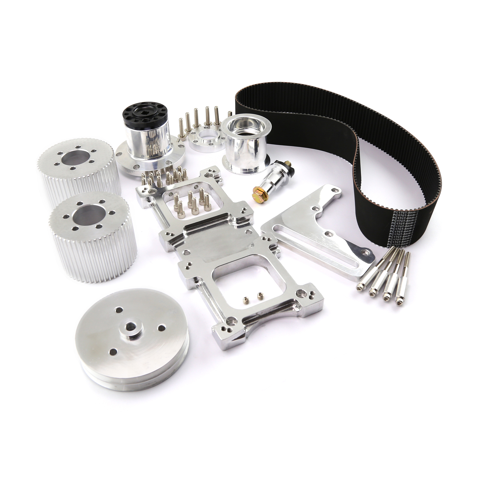 Roots Supercharger Kits: Chevy LS1 LS2 LS3 LS6 LS7 L76 Blower Drive Kit For 6-71 8