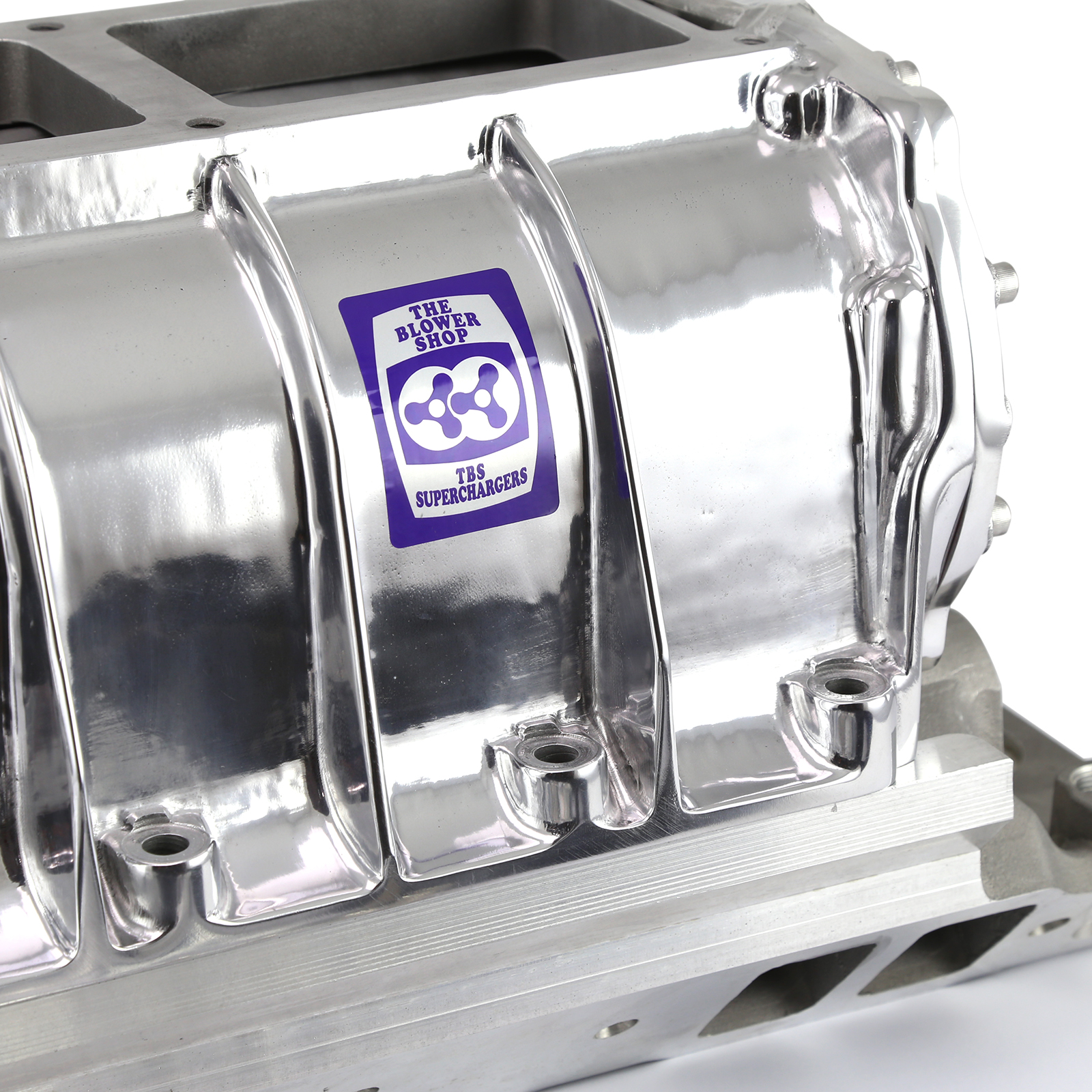 Roots Supercharger Kits: Chevy SBC 350 Complete Blower Kit W/ Blower Shop Supercharger