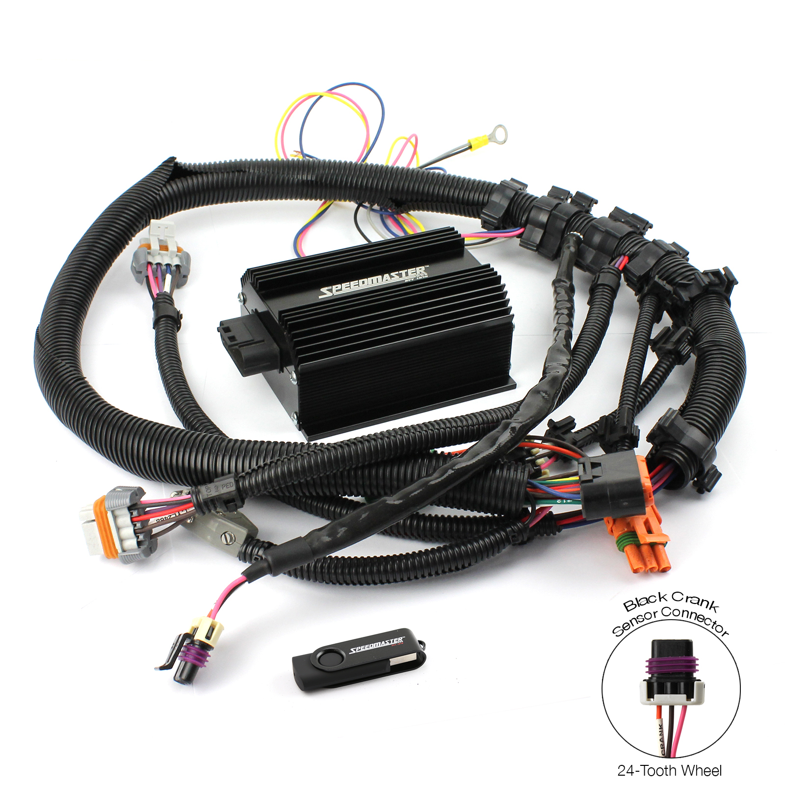 Ls1 Wiring Harness Swap Kit : Gm ls tooth efi to carbureted ignition controller