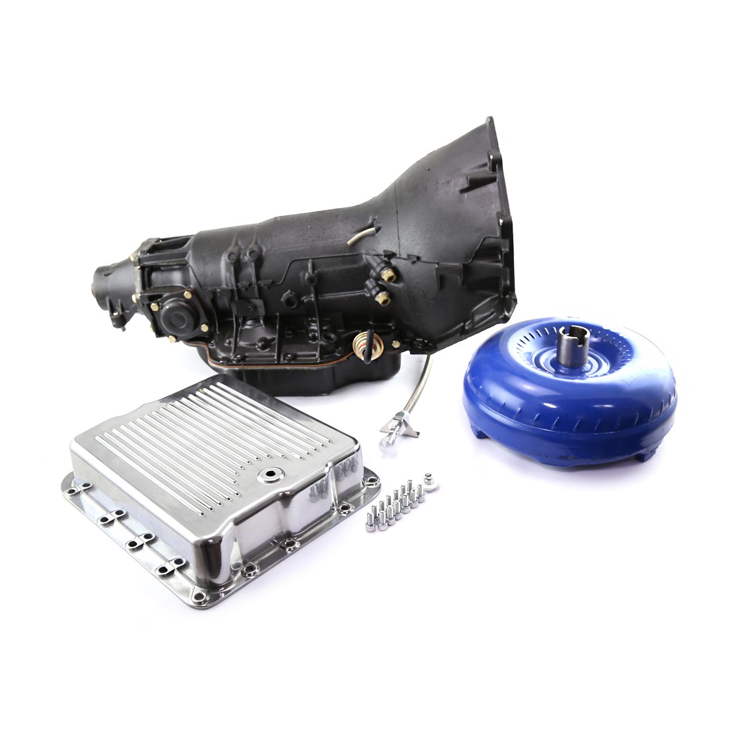 Turbo 700R-4 Chevy Performance Transmission Kit w/ 2800-3200 Stall Converter