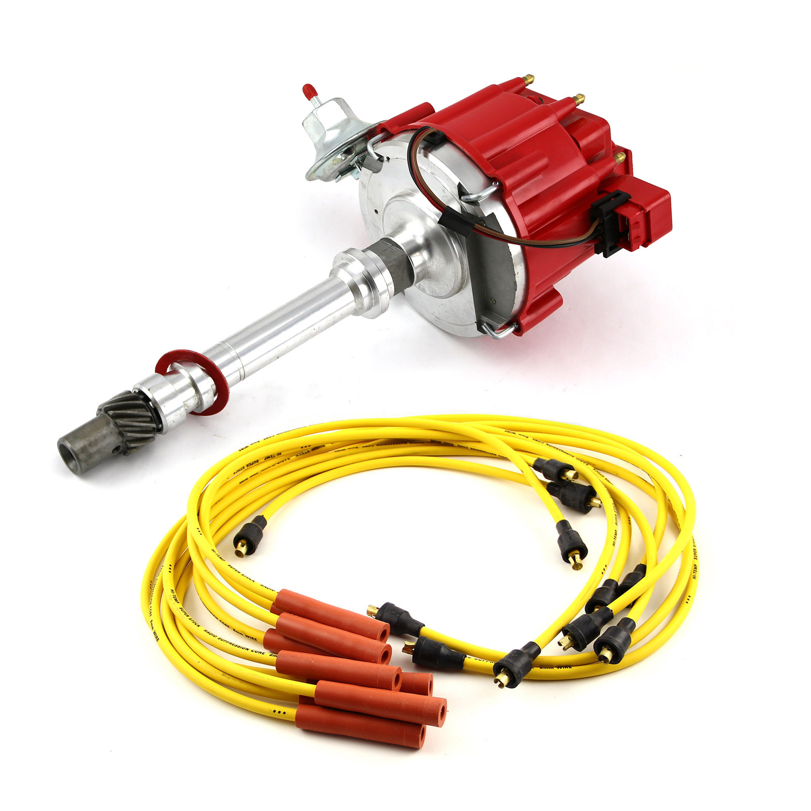 Chevy Hei Ignition Wiring Free Diagram For You Plug Truck Sbc 350 Bbc 454 Distributor Accel Spark Wires Rh Ebay Com